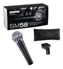 microfono alambrico marcado con shure sm58 ICcon cable de 5 metros