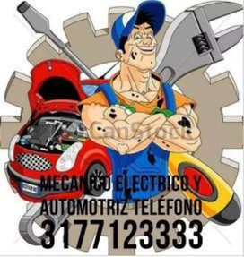 Taller de mecánicos automotriz y electricista a domicilio
