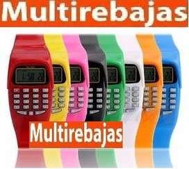 Reloj Deportivo Juvenil Con Calculadora