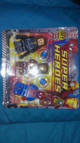 Muñecos Avengers X 3
