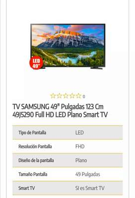 VENDO SMART TV SAMSUNG DE 49""