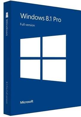 Windows 8.1 Professional Pro 32/64 Bit 1 Pc de por Vida Licencia Original