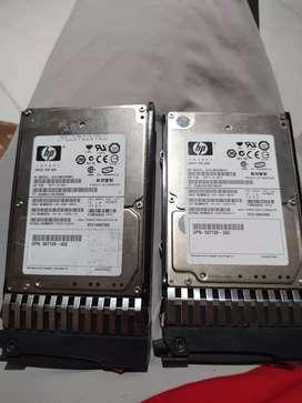 Discos SAS servidor 146 gb