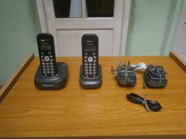 telefono inhalambrico panasonic x 2