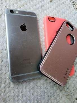 Vendo iPhone 6 con Fundas Y Cargador And