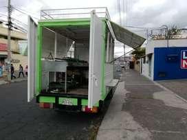 Vehículo tipo FOODTRUCK para venta de comidas rápidas. Se lo vende de oportunidad