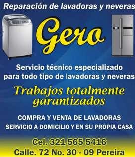 Neveras y lavadoras todo refrigeración servicio técnico