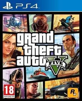 GRAND THEFT AUTO 5 (GTA V) GTA 5 PS4