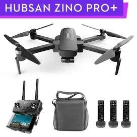 Drone Hubsan ZINO Pro Plus 4K 2 baterías y maleta
