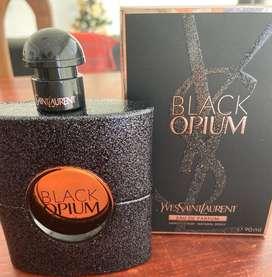 Black opium. Yves saint laurent