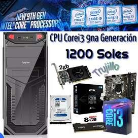 CPU  COREI 3 DE 9NA GENERACION