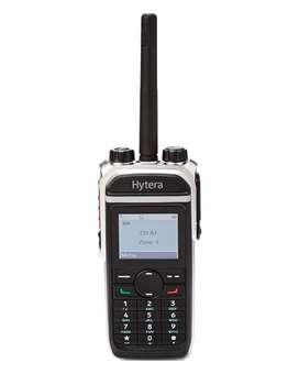 Radio Portátil Hytera DMR Digital PD686 IP67 Modo Dual