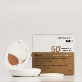Maquillaje Compacto Spf50+ Cumlaude Lab Sunlaude Rilastil