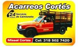 Servicio Camioneta 24 horas