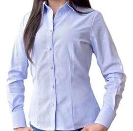 Camisa Oxford blananegra