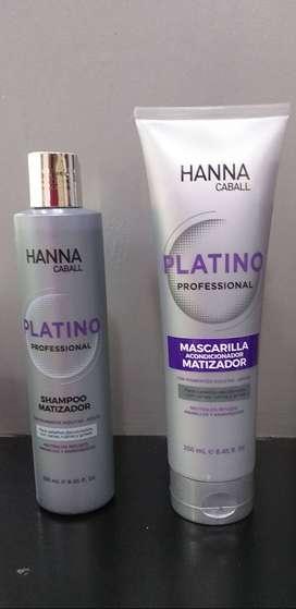 Shampoo y Acondicionador Hanna Caball