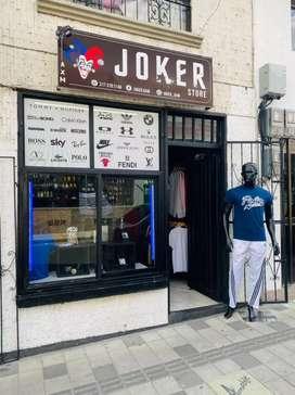 Se vende negocio de ropa NO local