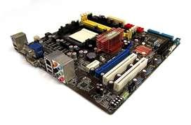 Board Asus M3a78-cm + Phenom X4 9650 + Ram 8gb