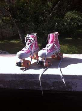 Patines de 4 ruedas All Star talla 36/37