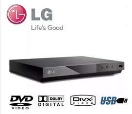 DVD LG DP132 con poco uso