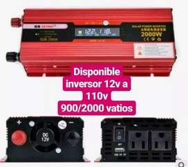 INVERSOR DE VOLTAJE 12v a 110v