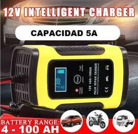 Cargador para baterias de 12v plomo o gel