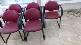 sillas para oficina o comedor