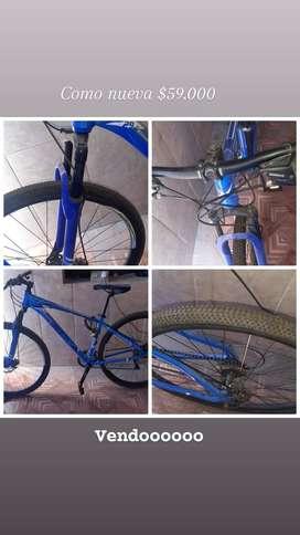 Vendo bicicleta rodado 29 igual a nueva
