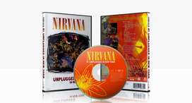 nirvana unplugged combo de cd y dvd