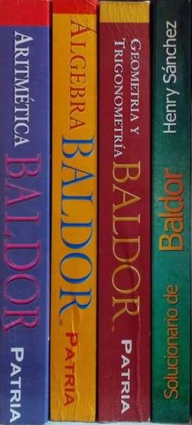 REMATO Libros de BALDOR
