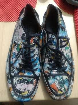 Zapatos Exclusivos Comics de Diseñador