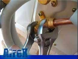 INSTALACION de aire acondicionado y cargas de GAS regrigerante