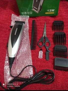 Set de corte de cabello a electricidad