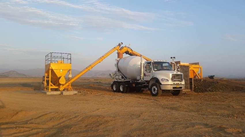 Alquiler de camión mixer y planta de concreto 0