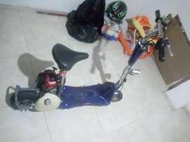 Minimoto motor de guadaña