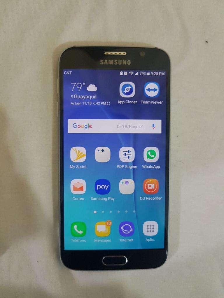 Samsung S6 Normal Color Azul 0