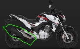 Exosto_moto Honda CB 250 Extrem_usado