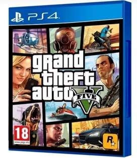 GTA V - PS4 - ORIGINAL