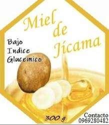 Miel de Jicama y Jicama deshidratada / Yacón