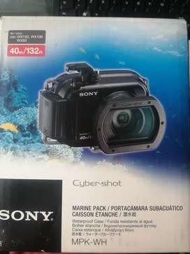 Portacamara subacuatica sony cyber shot  mpk-wh
