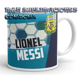 Taza Messi Selección Argentina