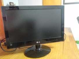 Monitor / pantalla 19 pulgadas led modelo Monitor LG 19 Pulgadas Flatron E1940t