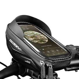 Bolso Estuche para celular en la bici