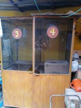 Venta de cabina de Metal para locutorio250