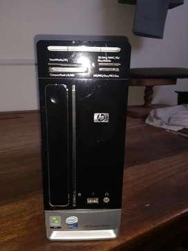 Torre HP Pavilion Slimline s3020la  con SSD + HDD Leer descripción