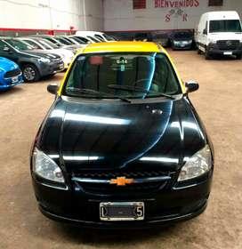 Taxi con licencia y GNC