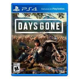 Days Gone Juego Fisico PS4 sellado