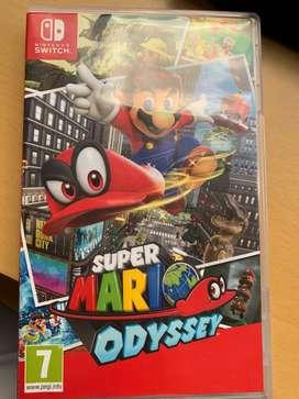 Mario super odyssey usado
