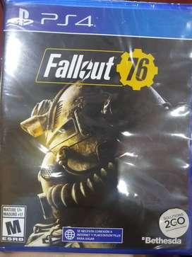 Fallout 76 nuevo sellado ps4