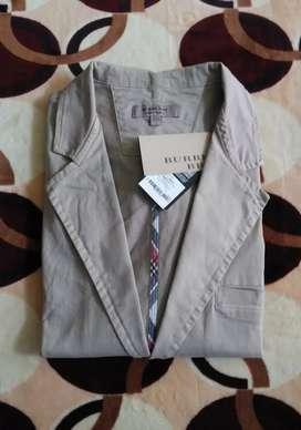 Saco chaqueta Burberry Medium o Large fit beige oferta